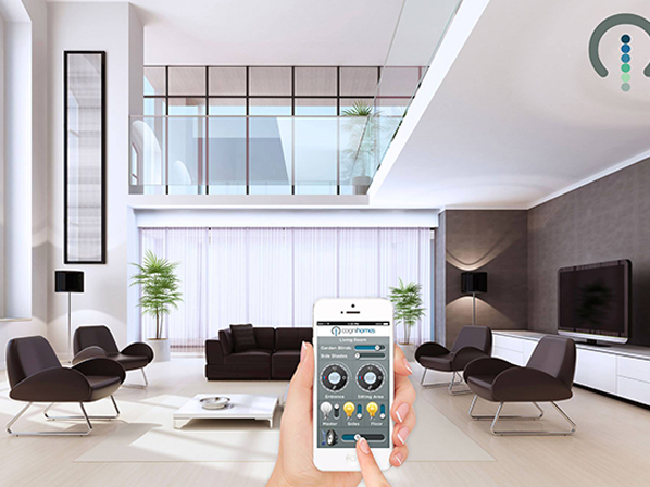 Control your home  from any smartphone